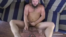 Topher Phoenix Barebacks Lion Reed