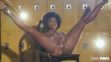 Ana Foxxx Is An Afro Wearing Goddess Who Strips And Masturbates For You