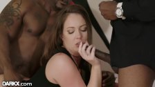 DarkX Fun Nite! Wife In Black Dick DP w/ Husband & His Best Boy
