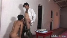 Cute troublemaker opens up his twink ass