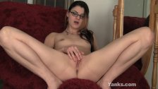 Yanks Lux Leota's Glass Dildo