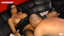 LETSDOEIT - Hot Milf Gets Seduced and Fucked Hard By Her Boss