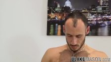 Handsome Ely Chaim sucked off before anal penetration