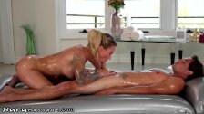 NuruMassage Isabelle Deltore is Soapy with Stepson! - duration 7:30