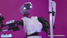 Camsoda - Sex Robot Vs Human, Twerk, Dirty Talk and Orgasm Contest
