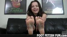 Toe Sucking And Femdom Foot Fetish Porn