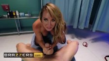 POV fantasy with Naughty nurse Brett Rossi - Brazzers
