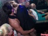 Party amateurs jerking cock at euro orgy