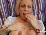 6-movies com – Tattooed blond fingering -