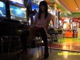 Jav Teen Reina Tsukimoto Teases In Girl Kini Then Flashes In Public