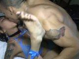asian freak kimberly fucked bodybuilder