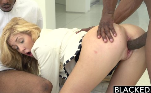 BLACKED 2 Big Black Dicks for Rich White Girl|1,157,471 views