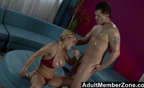AdultMemberZone  Oily Babe Gets Rammed|46,835 views