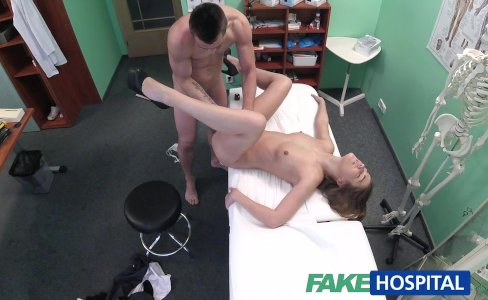 FakeHospital Technician paid with blowjob|38,375 views