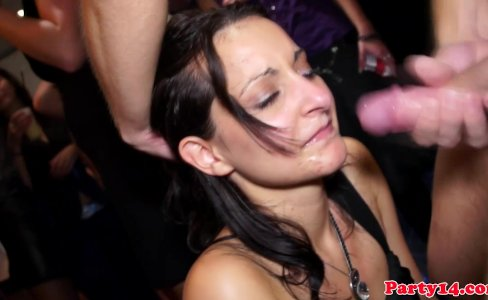 Euro party amateurs facialized after fucking|72,577 views