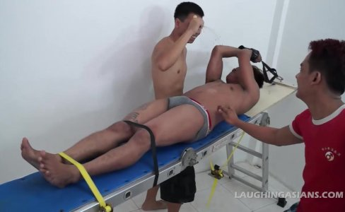 Gay Asian Twink Jack Gets Tickled|20,061 views