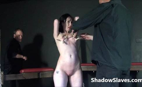 Faes breast whipping punishment and rough tit|49,448 views