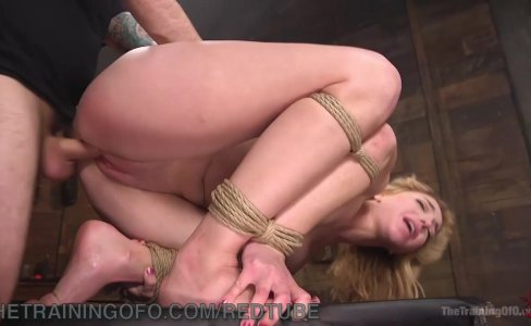 Pretty Blonde Slave Trained|91,010 views