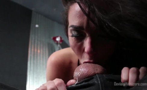 Bianca Breeze Bound and Throat Fucked|13,702 views