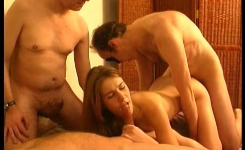 Teen amateur slut gangbanged by older guys|145,835 views