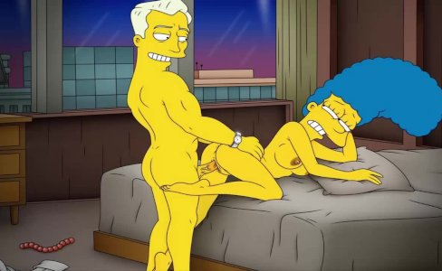 Cartoon Porn Simpsons Porn mom Marge have|125,020 views