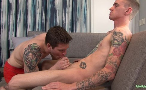 ActiveDuty Soldiers Allen And Ryan Bareback|14,230 views