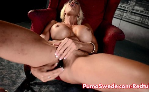 Puma Swede Cums with Toy in Lingerie!|3,756 views