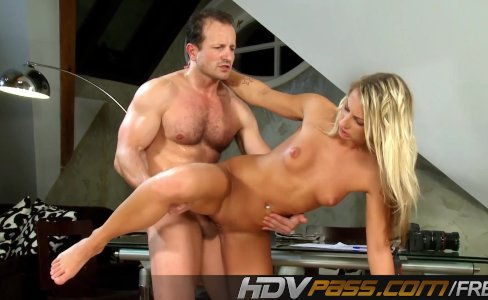 Blonde Christina Fucked By Mature Dick|13,762 views