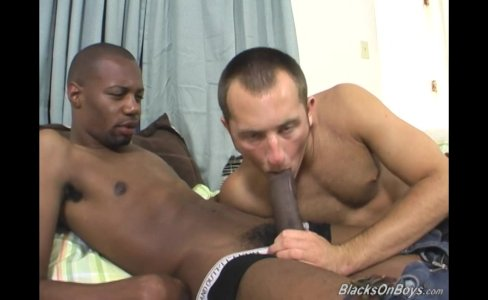 White dude deepthroating a massive black cock|28,061 views
