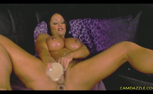 Busty Muscular Milf Fucks Pussy And Ass With |2,162 views