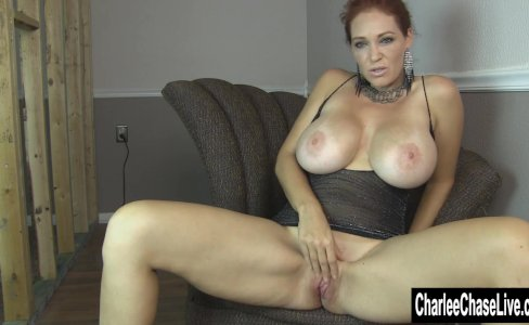 Home Fingering with Big Tit Charlee Chase|5,181 views