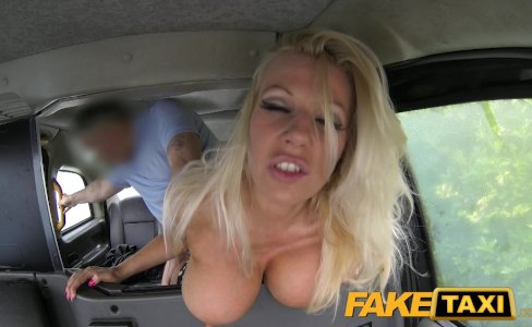 Fake Taxi Pornstar makes debut in London taxi|1,060,896 views