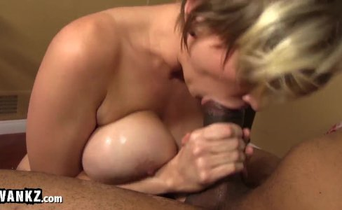 Busty Blonde Slut Fucked By Big Black Cock!|230,518 views