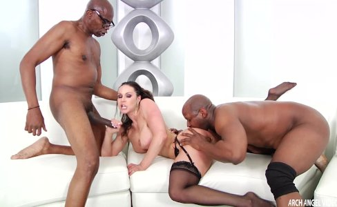 Kendra Lust hard interracial with two facials|100,386 views