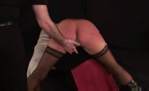 German BDSM and spanking with slave Heidi|3,581 views