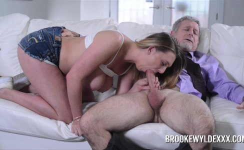 Teen Brooke Wylde Role Play with Older Guy|88,419 views