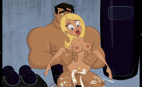 Slutty Blonde Cartoon Babe Gets A Creampie|54,055 views