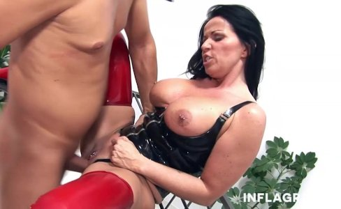 INFLAGRANTI Mature German Dominatrix |69,317 views