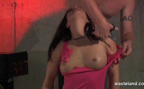 Beautiful slave girl brought to orgasm|27,709 views