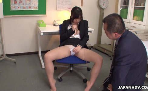 Busty teacher in the brake room toy fucks her|42,481 views