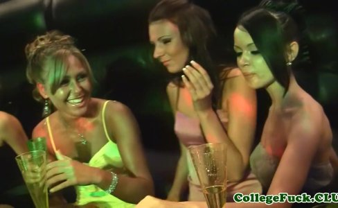 College sluts group fuck dude in club|45,188 views