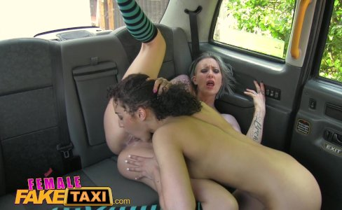 FemaleFakeTaxi Fitness babe stretches pussy|172,669 views