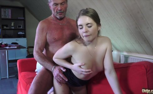 Young Russian Girl Suck an Old Grandpa|114,410 views