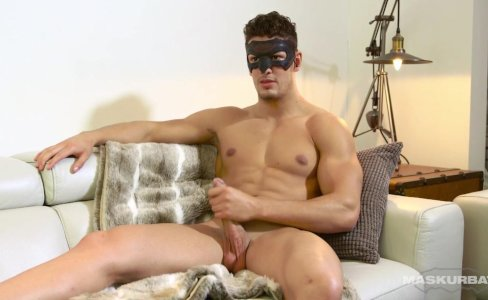 Maskurbate Masked Hunk Reveals Beautiful Cock|8,249 views