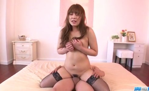 Rinka Aiuchi blows and fucks in dirty threeso|9,824 views