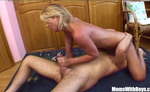 Blonde Stepmom Spreading For Her Stepson|63,970 views