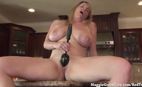Nude Busty Chef Maggie Green Cums in Kitchen!|1,316 views