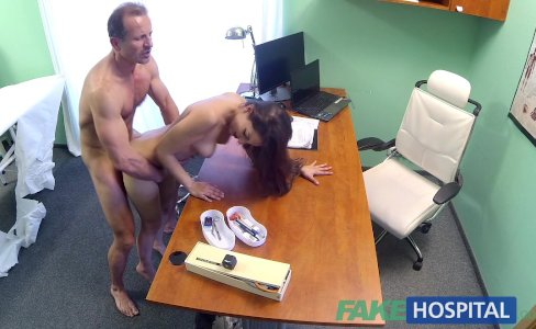 FakeHospital Spanish patient gets creampied|78,180 views