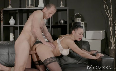 MOM Big tits Russian Milf squirts and fucks|321,817 views