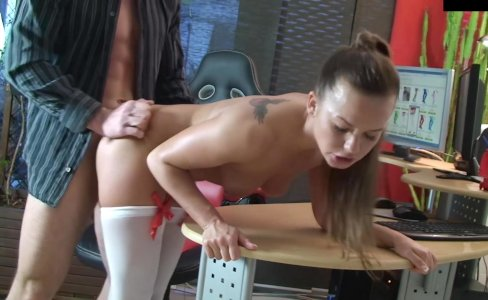naughty-hotties net - cute nellie desk quicki|882 views